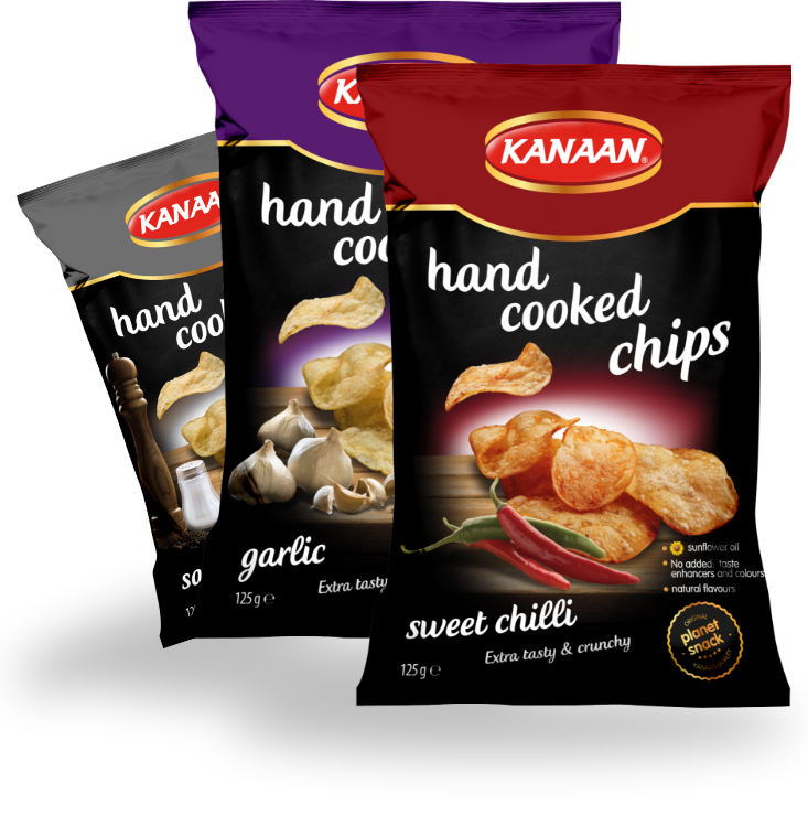 <h2>Hand cooked chips, the King of chips</h2>