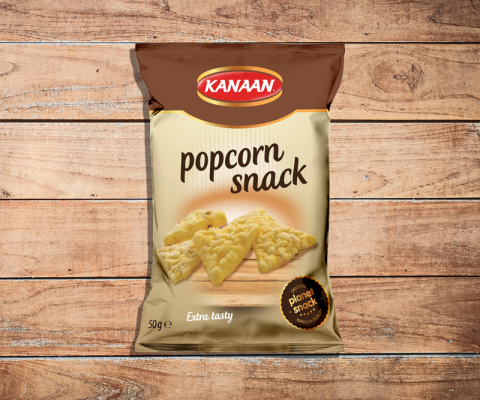 Popcorn snack, a better alternative