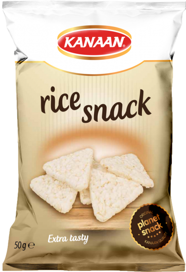 <h2>Rice snack, better alternative to rice crackers</h2>